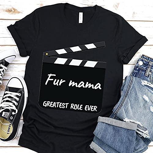 Astemdhj Camiseta de Manga Corta Camisa 3D Super Mama Mujeres Camiseta Niños Moda Impresión Hip Hop Verano Harajuku Estética para Mujer Diario O Cuello XXL 906M-810-Supermama18