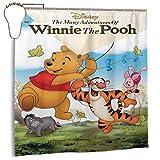 NBHJU Die vielen Ad-ventur-ES von Win-nie The Pooh Classic Wasserdichter Duschvorhang 72x72 in Eisen Fühlen Sie Sich gut & &urchsichtig, um die Privatsphäre zu schützen