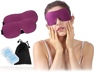 Atrest Sleeping Eye Mask, Men Women 3D Blackout Comfort Ultra Lightweight Blindfold Eye Cover for Travel, Shift Work, Naps