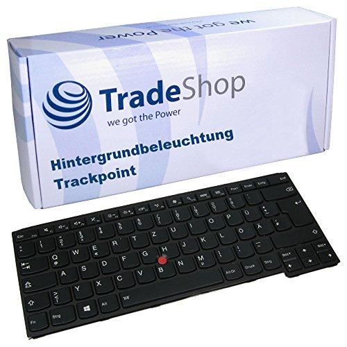 Original Laptop-Tastatur mit Hintergrundbeleuchtung und Trackpoint/Notebook Keyboard Deutsch QWERTZ für IBM Lenovo Thinkpad Yoga 14