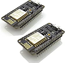 Arduino WiFi Module New Version ESP8266 NodeMCU LUA CP2102 ESP-12E Internet WiFi Development Board Open Source Serial Wireless Module Works Great with Arduino IDE/Micropython