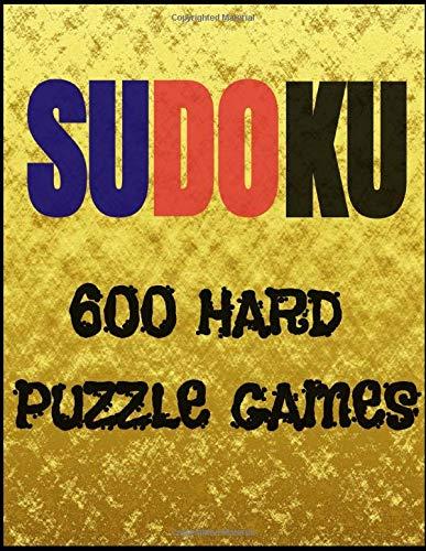 SUDOKU 600 Hard Puzzle Games: SUDOKU is a logical puzzle, puzzle games, hard sudoku for aduls, Acquire new skills