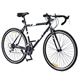 Viribus Adult Gravel Bike, 21 Speed 27.5 Inch Road Bike with Dual V Brakes, 650b All...