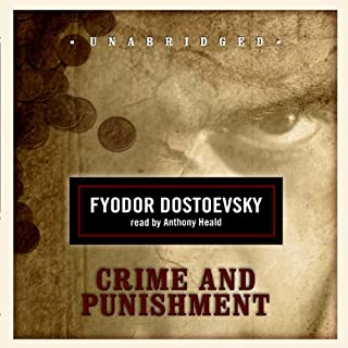 Crime and Punishment                   By:                                                                                                                                 Fyodor Dostoevsky,                                                                                        Constance Garnett (translator)                               Narrated by:                                                                                                                                 Anthony Heald                      Length: 20 hrs and 28 mins     2,442 ratings     Overall 4.4