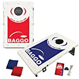 BAGGO Family Backyard Bean Bag Toss Portable Cornhole Game