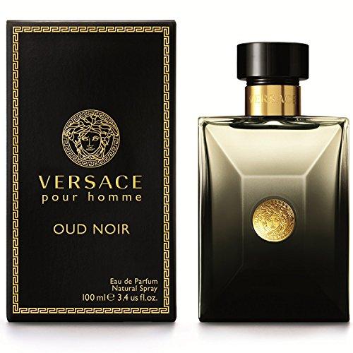 Versace Pour Homme Oud Noir Herrenduft, Eau de Parfum, 100 ml