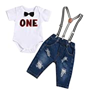 oldeagle Newborn Toddler Baby Girls 4PCs Set Mommy&Daddy Letter Print Romper+Stripe Pants+Hat+Headband Clothes Set