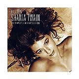 Shania Twain Leinwand-Poster, Motiv