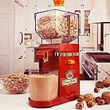 Máquina de Mantequilla de Maní, Molinillo de Maní Doméstico Máquina de Procesamiento de Mantequilla de Maní, Molinillo de Cocina Portátil para Fabricación de Nueces, Molinillo de Almendras Máquina