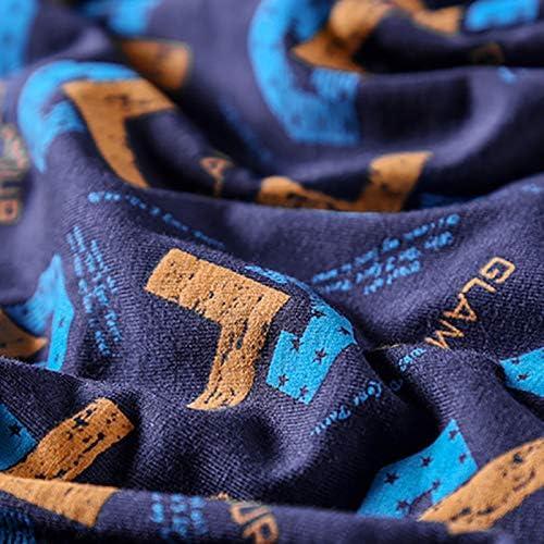 JIUMENG Men's Boxer Briefs Underwear Men's Comfortable Cotton Underwear