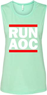 Manateez Women's Run AOC Muscle Tank Top