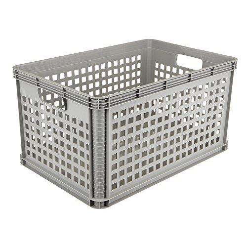 keeeper Box, Hellgrau, 1 x 64 l