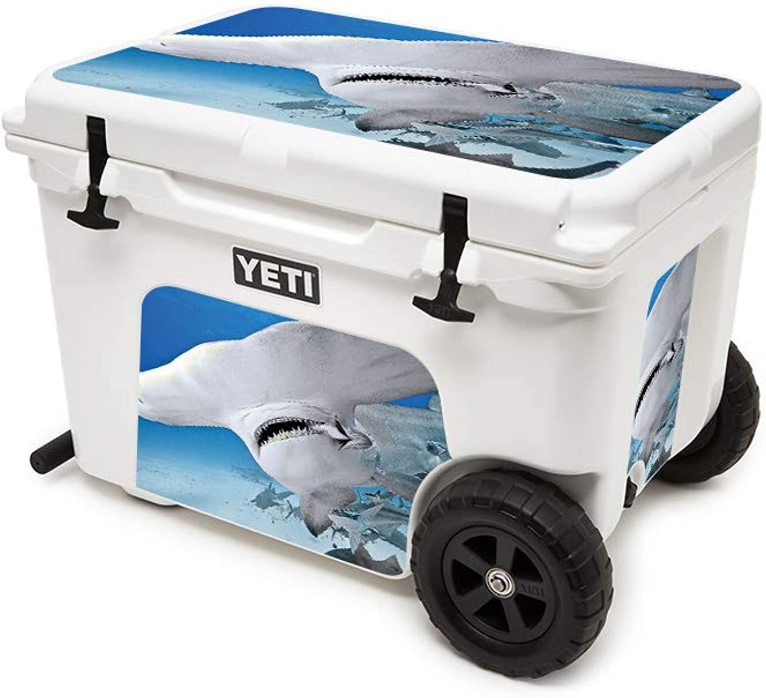 MightySkins Skin Compatible with YETI Tundra Haul Cooler  Meal Time   Predective, Durable, and Unique Vinyl Decal wrap Cover   Easy to Apply, Remove, and Change Styles   Made in The USA