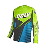 UGLYFROG Designs Downhill Jerset Mountain Bike Wear Maillot Bicicleta Hombre Manga Larga MTB,Maillot Ciclismo Ropa Ciclista Invierno