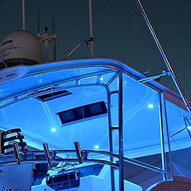 High Output Lumitec LED Exterior or Interior Down Light Flush Mount Slim Profile