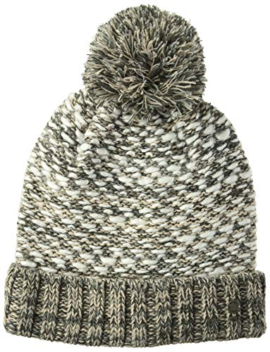 Roxy Junior's Corner of The Fire Beanie Hat, Heritage Heather, One Size