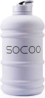 Half Gallon Water Bottle BPA Free 2.2 Litre Big Water Bottles Leak Proof Reusable Large Water Jugs with Spout Gym Water Bottle for Sports Hydrate Water Bottle
