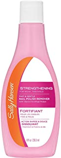 Sally Hansen Nail Polish Remover, Strengthening, 8 fl oz - 236.5 ml