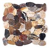 Mosaico de Piedra en Malla DEC-00000000105, 8 mm, 30 x 30 cm