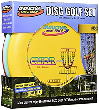 Innova Disc Golf Set – Driver Mid-Range & Putter Comfortable DX Plastic Colors May Vary  3 Pack