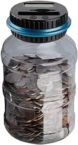 Piggy Bank-Counter coin electronic digital counting piggy bank