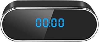 【2020最新型】隠しカメラ 置き時計型 小型カメラwifi スパイカメラ 遠隔操作 WiFi対応防犯監視カメラ 長時間録画 1080P高画質 動体検知 自動警報 暗視撮影 ネットワークカメラ 日本語取扱説明書付 iPhone/Android対...