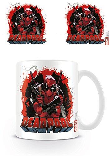 Deadpool MG23819 - Smoking Gun - Mug, Céramique, Multicolore, 11 oz/315 ml