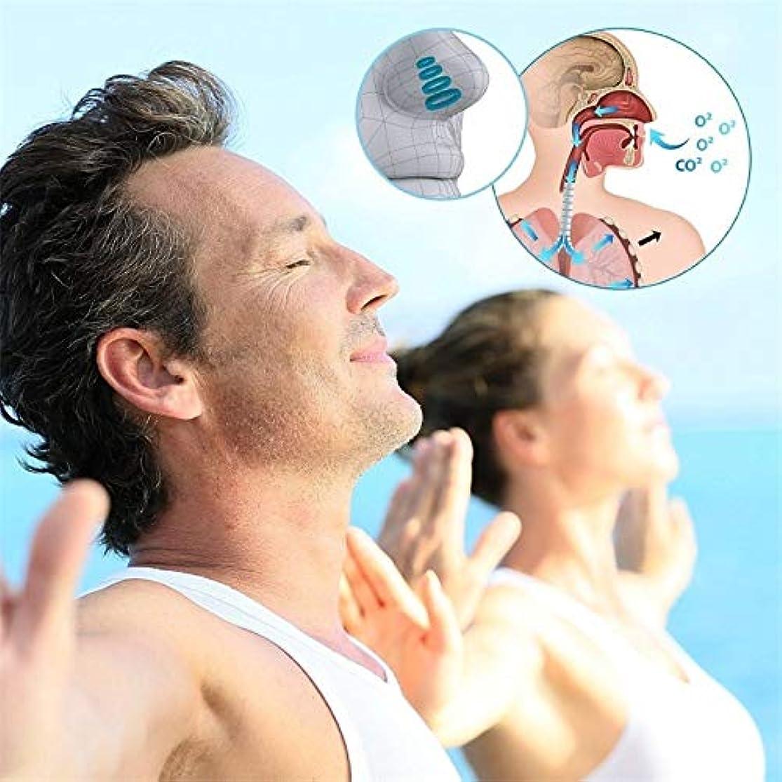 ブームラダ配分NOTE 4ピース健康睡眠補助機器停止いびき磁気アンチいびき無呼吸鼻クリップミニ透明抗いびきデバイス