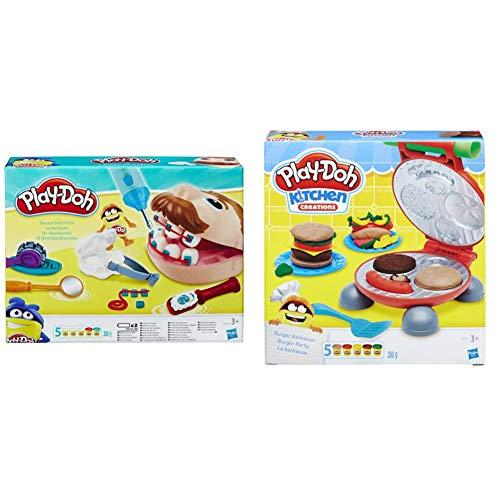 Play-Doh Dentista Bromista (B5520EU4) + La Barbacoa (B5521Eu7), Color/Modelo Surtido