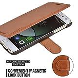 Mulbess Coque pour Motorola Moto Z Play, Etui Motorola Moto Z Play Cuir avec Magnetique, Layered...