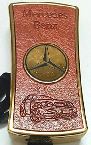 PIA INTERNATIONAL® MERCEDES LEATHER FLAME CIGARETTE LIGHTER