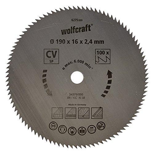 Wolfcraft Kreissäge-Blatt 190  X 16 112 Zähne
