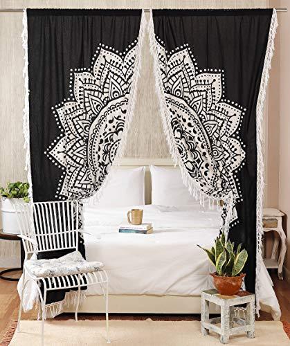 Mandala Curtain Tapestry
