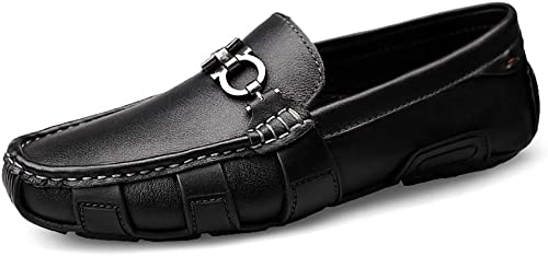 Herrenschuhe Loafers Schuhe Leder Wasserproof Fashion Komfort Komfort Luxury Business schuheLoafers & Slip-One Boat Schuh Driving Schuh