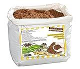 Humusziegel - 20 litros Natural terrario substrat múltiple en Bolsa de Seca – 100% Puro Coco Tierra como sustrato einstreu de Coco de Suelos