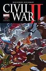 Civil War II n°3 (couverture 2/2) de Brian Bendis