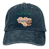 Hdadwy Consigue un Sombrero de Vaquero de algodón Ajustable Kris-PY Kre-Me Don-UtHable Retro Gorra de béisbol