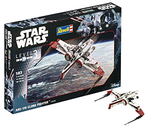 Revell Revell-ARC-170 Star Wars ARC-170 Fighter, Kit modele,...