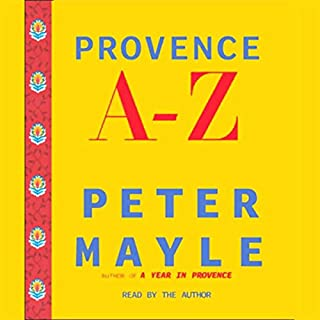 Provence A-Z audiobook cover art