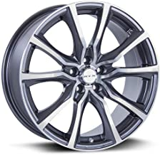 RTX Contour Wheels/Rims 16x7 inch 114.3 ET40 C/B 73.1 Gunmetal Machined Face