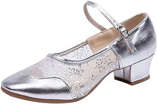 Loveso-Schuhe Loveso Damen Geschlossene Ballerinas Mesh Flache Sandalen Party Damenschuhe Ballsaaltanz Schuhe