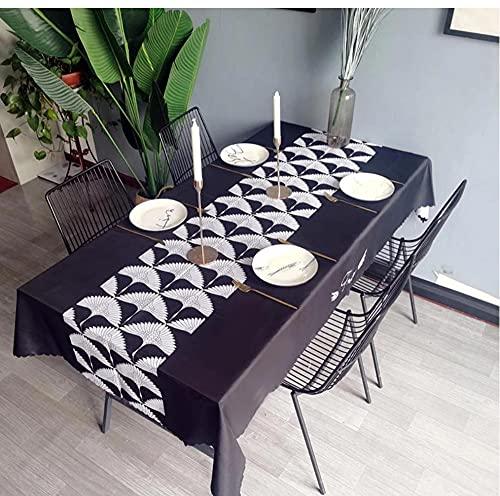 Nappe imperméable Nappe Table à Manger Couverture cheminée comptoir décor à la Maison 140X220Cm