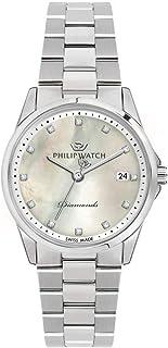 Philip Watch - Reloj para de Cuarzo con Correa en Acero Inoxidable R8253212501