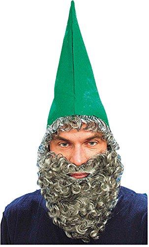 Panoplie adulte nain - barbe et chapeau vert
