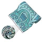 Hot Yoga Towel Exclusive Corner Pocket Eco Friendly Printed Yoga Mat Microfiber Towel