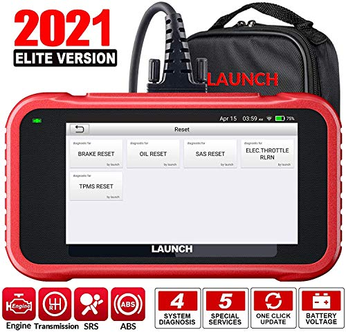 LAUNCH X431 CRP129E Obd2 Touchscreen Codeleser Scanner One Click Update Support-Engine ABS SRS at +...