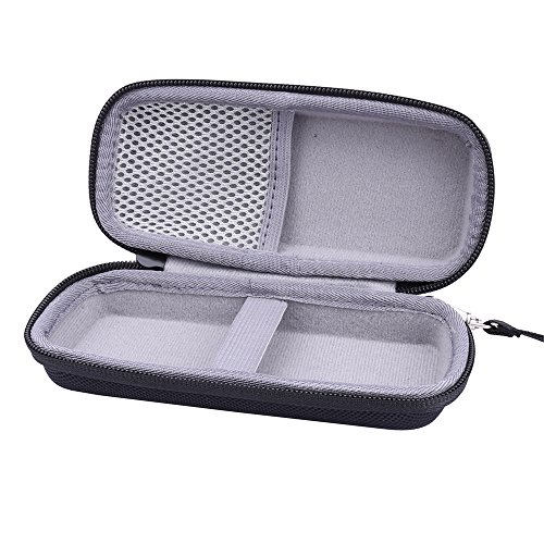 Hard Case for Finishing Touch Yes Hair Remover fits USB charger by Aenllosi (Black)