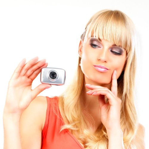 Somikon Digicam: 3in1-Action-Cam DV-500 mit 720p-Auflösung & 5-cm-Touchscreen (Unterwasserkameras)