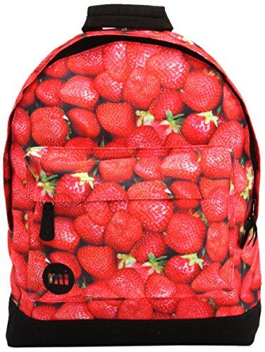 Mi-Pac - Mochila infantil, color rojo, talla 41 x 30 x 15 cm