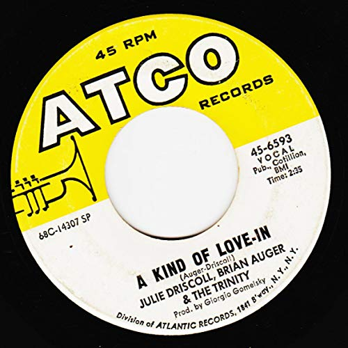 this wheel's on fire / a kind of love-in 45 rpm single